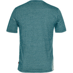 VAUDE Arendal II - T-shirt manches courtes Homme - Bleu pétrole
